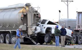 100 Feed Truck Distraction Led To Collision Between Pickup Feed Truck Local