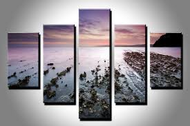 Nature Canvas Wall Art 4 Excellent Ideas Neat Design Aliexpresscom Buy 5PC HD Print Home Decor 3 Panel