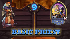 hearthstone priest deck beginner hearthstone deck guide starter priest basic cards only