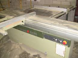 scm woodworking machinery used