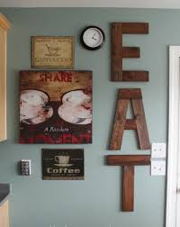 Diy Kitchen Wall Decor Of Well Ideas For Attractive Popular
