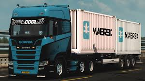 Krone Container 2x20ft 1.32 | ETS2 Mods | Euro Truck Simulator 2 ...