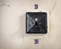 wall mounted light switch â stock photo â vallerato 116505072