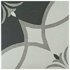8x8 white floor ceramic tile tile the home depot