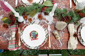 Winter Wonderland Place Setting Tablescape