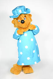 Berenstain Bear Papa Custom Mascot Mama