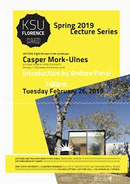 100 Ulnes Lecture By Casper Mork Mork Architects Norway USA