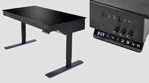 news lian li s dk 05 motorized desk fits 2 pcs inside