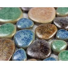 porcelain pebble mosaic tiles wall designs ceramic tile flooring