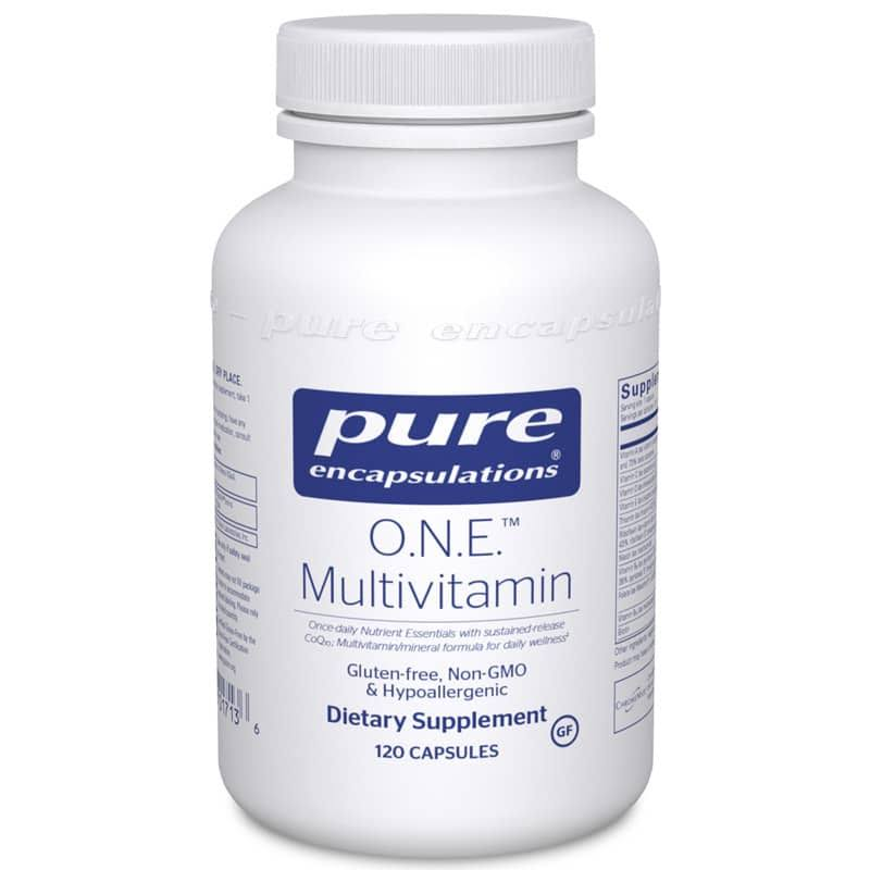 Pure Encapsulations O.N.E. Multivitamin Supplement - 120 Capsules