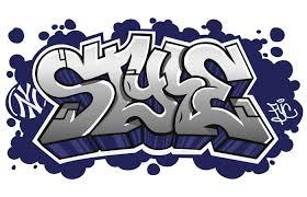 The Word Art In Graffiti Letters Written