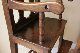 Georgian Child's Wooden High Chair. Wood Teddy Bear Dolls Seat C1820. Mocka Original Wooden Highchair Highchairs Au High Chairs For A Montessori Home Learn What Kind Of High Chair To Get Amazoncom Stokke Tripp Trapp Chair Only No Harness Walnut Brown About Aac 22 Hay Shop 16 Best 2018 Buy Online At Overstock Our Booster Natural Lancaster Table Seating Readytoassemble Stacking Restaurant Georgian Childs Wood Teddy Bear Dolls Seat C1820