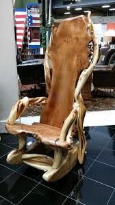 Nothing Says Rustic Better Than This Unique Solid Wood Accent Chair Get It In Your Home TODAY To Achieve That Charming Texas Interior Style
