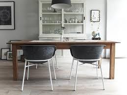 esszimmer weiß grau holz reihenhaus