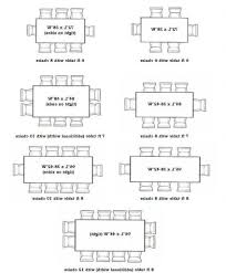 Standard Dining Room Table Size kitchen table sizes at best standard dining room table size