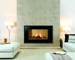 fireplace wall tiles feature modern suzannawinter