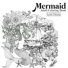 Download Mermaid Adult Coloring Book Lost Ocean Read PDF Audio Idwcbj22b