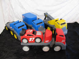 LITTLE TIKES SEMI Trucks - 4 Semi Trucks | #1810648056 Little Tikes Slammin Racers Stunt Jump Target 4 Little Tikes Rugged Riggz Semi Trucks Race Car Towing Carrier Amazoncom Semi Tractor Trailer Truck Toys Games Red Hauler W Race Car Truck Vintage Retired Heavy Duty Outside Fun With Giveaway Closed Simply Being Mommy Large Ride On Semi Trucklittle Tikes23 Longfantastic Preloved Buy Big Carrier Two Cars Online In Dubai Uae Rig Ride On Blue 18062936 Riggz Riggs Rugged Dump Cstruction Ebay Tykes 23 Long Clean