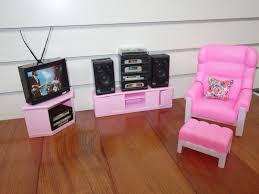Barbie Living Room Set by Gloria Barbie Doll House Furniture 94014 Living Room Play Set