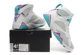 Gray And Teal Nike Jordans Girls
