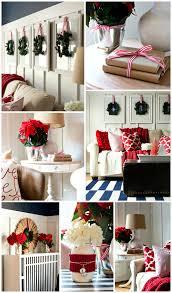 Red Living Room Ideas 2015 christmas home tour