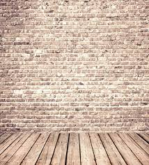 Shop Pink Photography Backdrop Weathered Brick Wall Wood Floor Rustic Styel Background For Baby Newbaby Children Shoot Studio Free Delivery And Returns