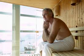 high blood pressure risks with tubs and saunas
