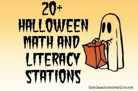 Halloween Math Multiplication Worksheets by Halloween Math And Literacy Stations