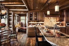 Log Cabin Kitchen Lighting Ideas by Log Home Photos Kitchen U0026 Dining U203a Expedition Log Homes Llc