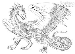 Printable Dragon Coloring Pages Kids