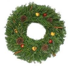 Fraser Fir Christmas Trees Delivered by 24 In Traditional Real Live Fraser Fir Christmas Wreath Fresh