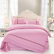 Bedroom Girls Bedding Sets Features 4pcs Twin Full Size White