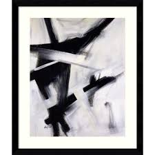 Black White Office Art