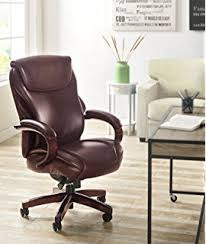 Serta Big And Tall Office Chair 45752 by Amazon Com Serta Bonded Leather Big U0026 Tall Executive Chair Brown