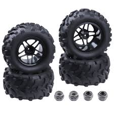 100 Rc Truck Wheels Amazoncom Hobbypark 4Pack RC 28 Tires Rims