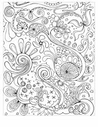 Abstract Coloring Pages Adults For Printable Mandala Free Pdf Full Size