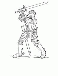 Gallery Of Knight Coloring Pages Middle Ages Sheets Pdf Robo Page Moon Vampire Arkham Lego Online