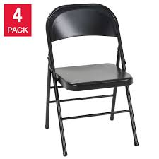 Cosco Folding Chairs Canada by Cosco Steel Folding Chair 4 Pack