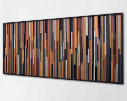 Rustic Wall Art Wood And Metal Youtube Inside Decor