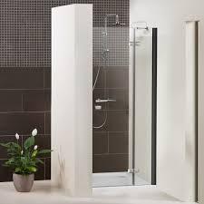 duschkabine duschabtrennung dusbad vital 1 black edition dusche glastür für duschnische drehtür esg 6mm made in germany glasduschen