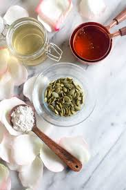 Soaking Pumpkin Seeds In Water by Pumpkin Seed Rosewater Face Mask Catching Seeds