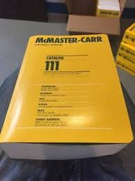 Image Is Loading MCMASTER CARR Industrial Supply CATALOG No 111 Chicago