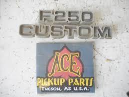 100 1977 Ford Truck Parts F250 Custom Emblem For Sale Online EBay