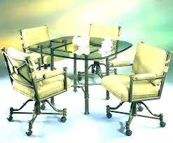 Rolling Dining Chairs Rolling Dining Chairs Brilliant Amazon Com