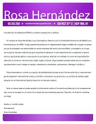 Carta Recomendacion EspañOl
