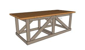 wood table plans myoutdoorplans free woodworking plans and