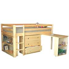 Low Loft Bed With Desk And Dresser by Loft Bed With Drawers And Desk Image Of Loft Bed With Drawers And