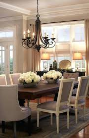 What Size Chandelier For Dining Room Black Table And Chairs Tags Distinctive