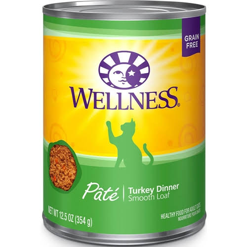 Wellness Complete Health Cat Food - Turkey, 12.5oz