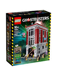 100 Lego Fire Truck Games LEGO Ghostbusters 75827 House Headquarters At John Lewis Partners